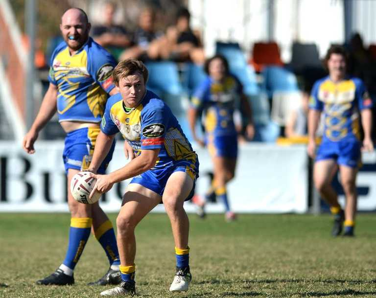 Hooker George Grant scored a hat-trick for the Yeppoon Seagulls in their 14-point win over Emu Park on Saturday night.