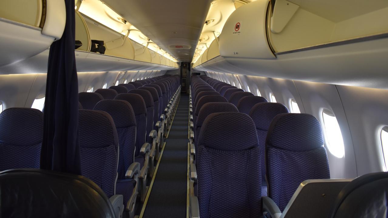 Inside the new Alliance Embraer E190.