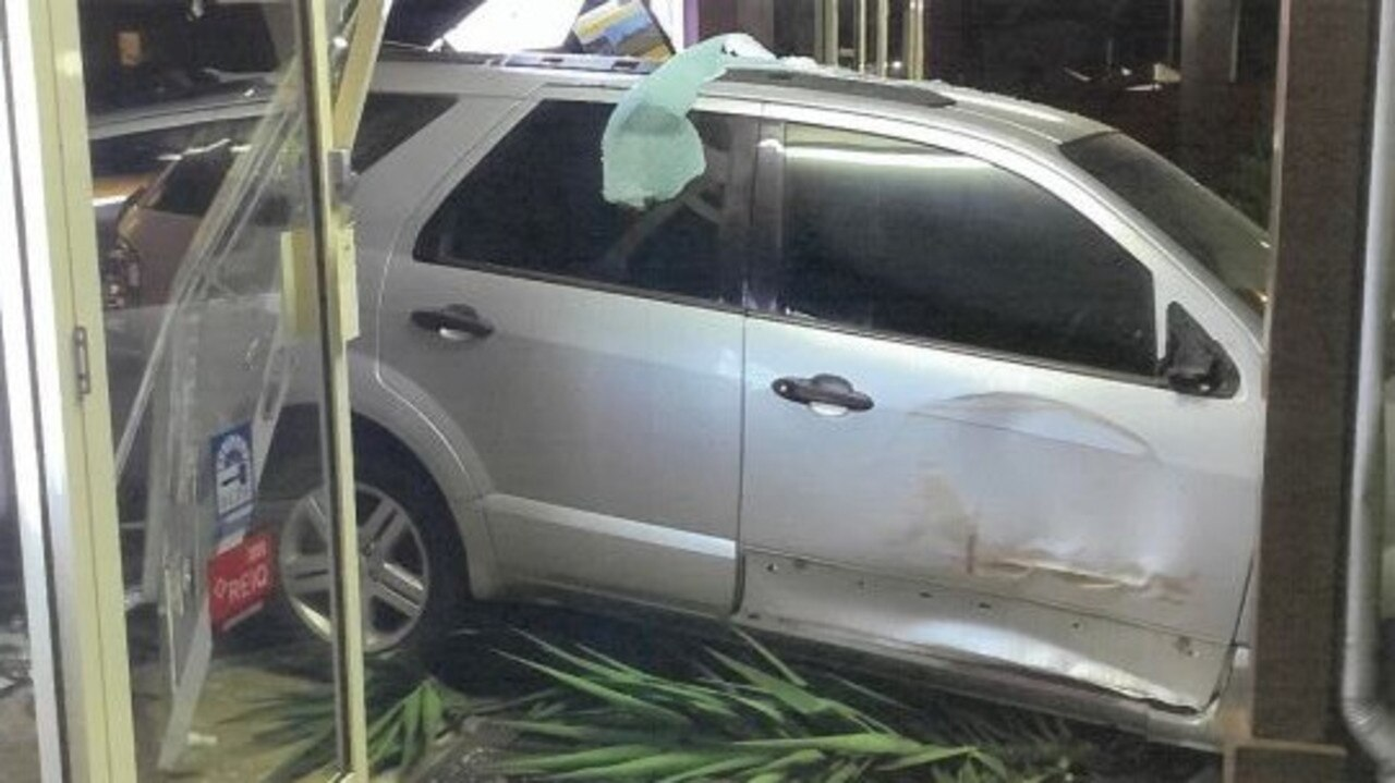 FACING COURT: A Dalby man has been charged after he allegedly reversed his car into a shop on April 10. Picture: Contributed