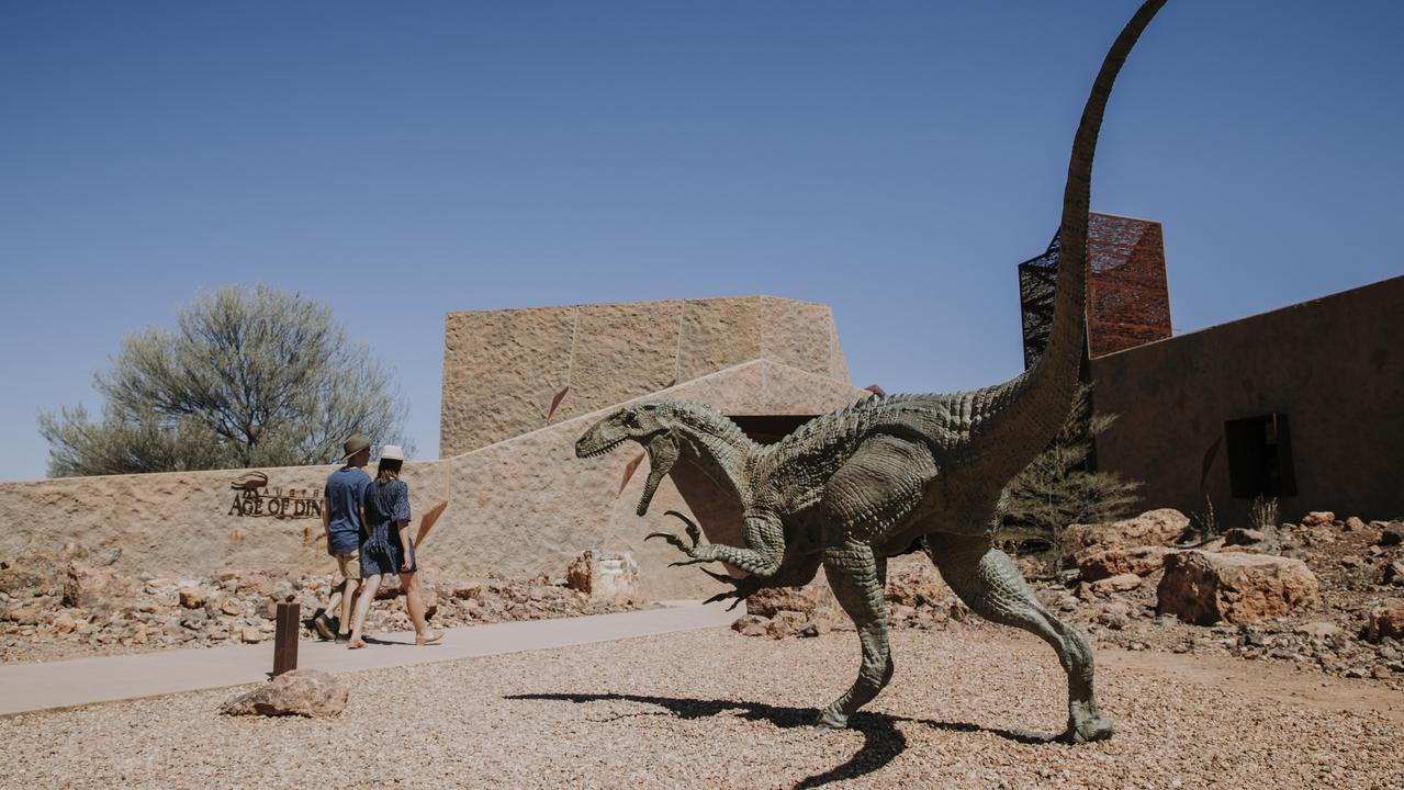 Australian Age of Dinosaurs exhibit at Winton. Photo: Jack Harlem