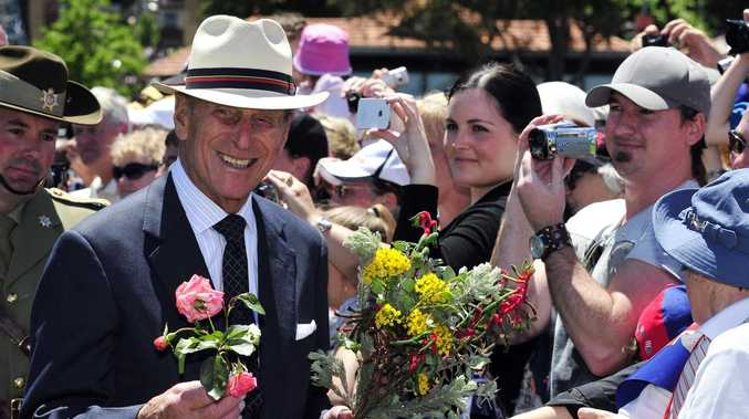 Australians pay tribute to Prince Philip