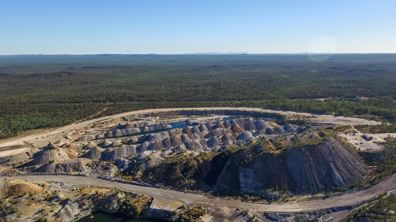 An aerial view of Blair Athol mine. Picture: Lock the Gate Alliance