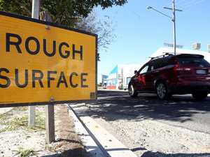 Road resurfacing works for Rocky roundabout