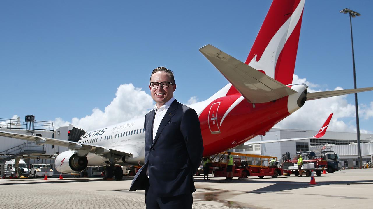 Qantas CEO Alan Joyce. Picture: Brendan Radke