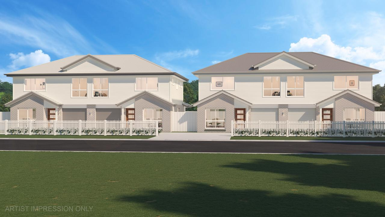 Plans for the units at 18 Arthur St, Yeppoon, by Stroud Homes.