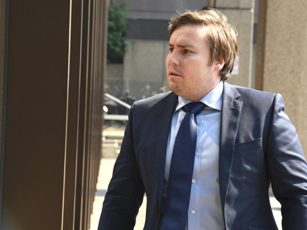 Adam Cranston was an alleged member of the Plutus payroll syndicate. Picture: AAP Image/Peter Rae