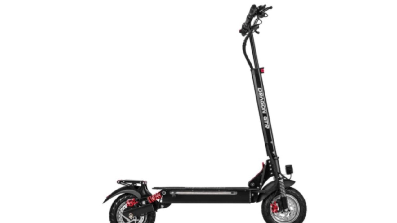 The stolen electric scooter resembled the scooter pictured. Picture: Queensland Police Service