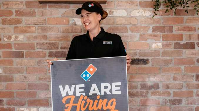 10 new jobs going at Domino's Gympie