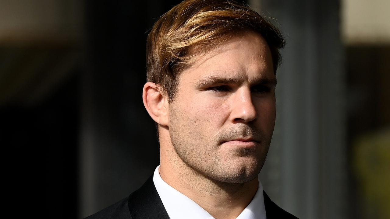 Rugby league player Jack de Belin's sexual assault trial has begun. Picture: NCA NewsWire/Bianca De Marchi