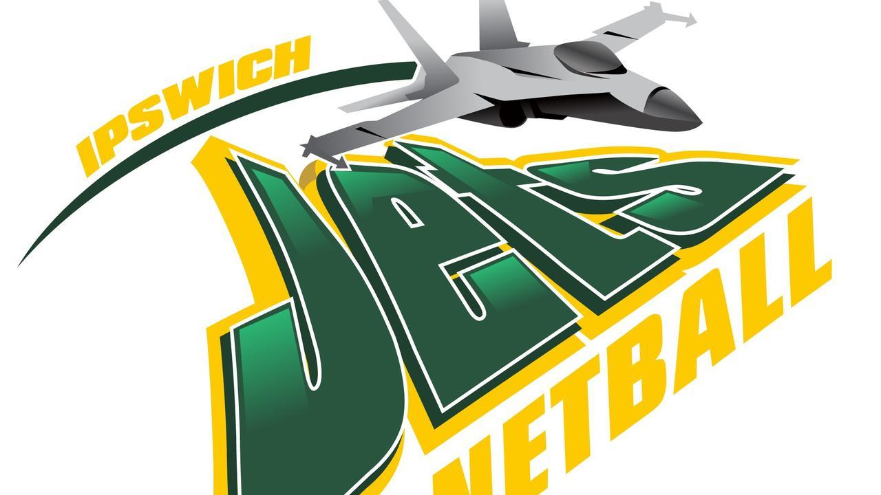 USQ Jets netball logo