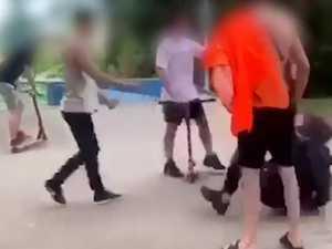 Shocking skate park fight video triggers mass outcry