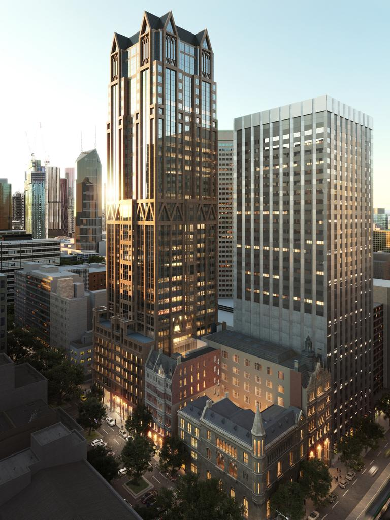 Renders of The Queen and Collins project by GPT.
