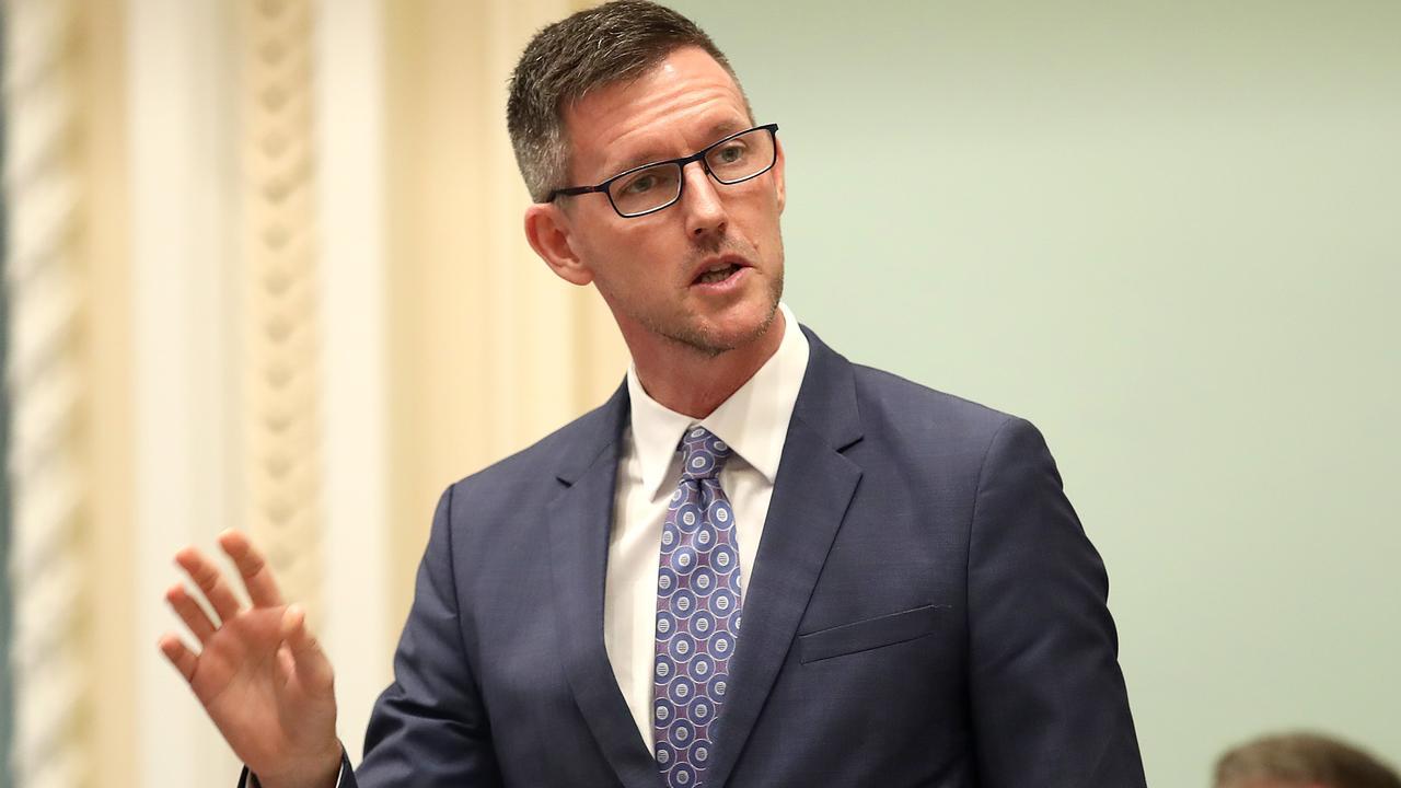 Minister Mark Bailey. Picture: NCA NewsWire / Jono Searle