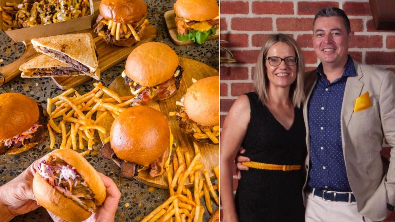 Getta Burger founders Amy and Ben Poulter are excited to open their first Sunshine Coast store.