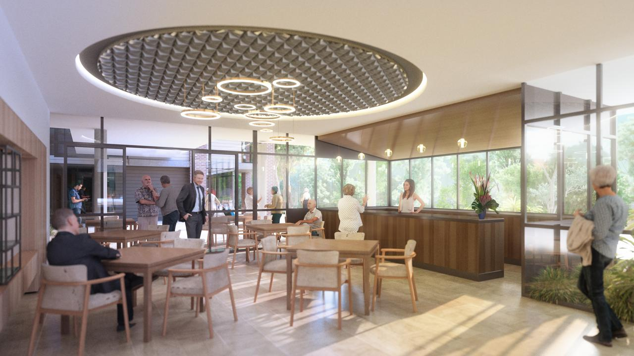 Design images released by Benevolent for their $44m development at their West St aged care facility.