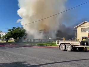 Fire destroys home at Maryborough