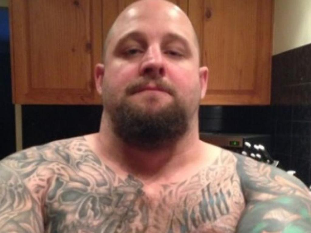 Paranoid gunman Ricky Maddison killed police officer Brett Forte.