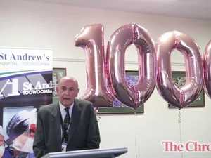 1000th Robotic case at St Andrew's Toowoomba Hospital
