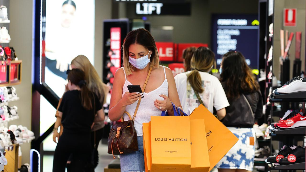 One year later, the shops are bustling again. Picture: NCA NewsWire/Gaye Gerard