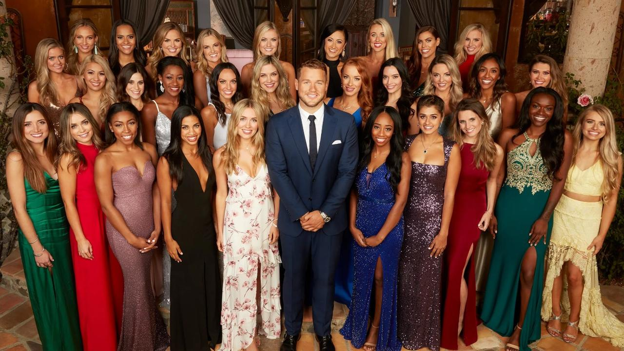 Colton Underwood on the 2019 season of The Bachelor. Picture: ABC