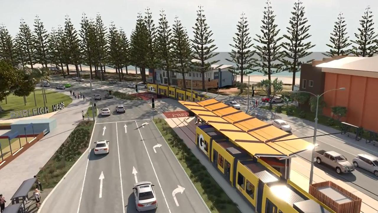 Gold Coast Light Rail Stage 3 was expected to begin construction early this year.