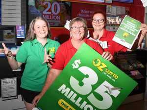 $35m Oz Lotto winners buy tickets in Powerball