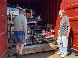The Bargara Men's Shed will be in 'hibernation' while it searches for a new home.