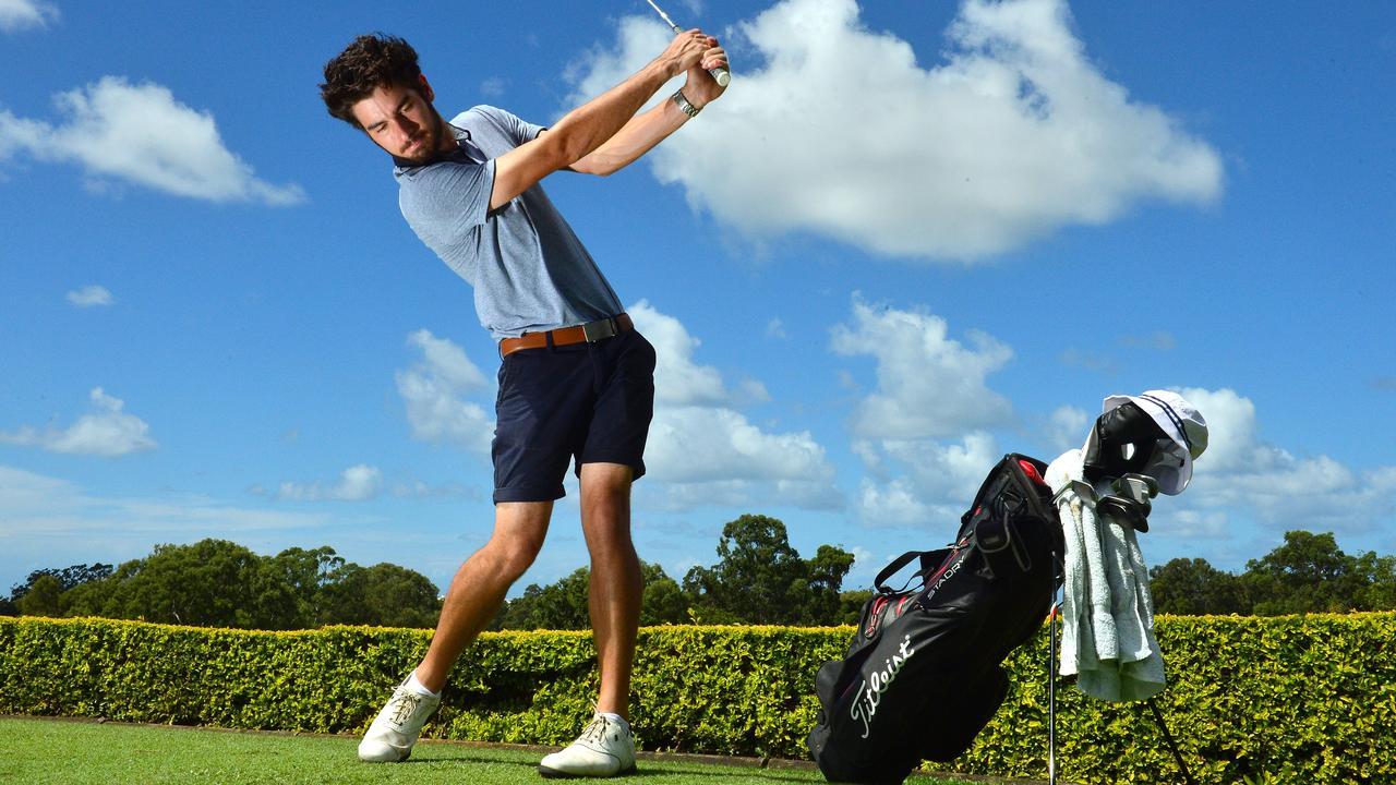 Buderim's Headland Golf Club Jake Crowther.