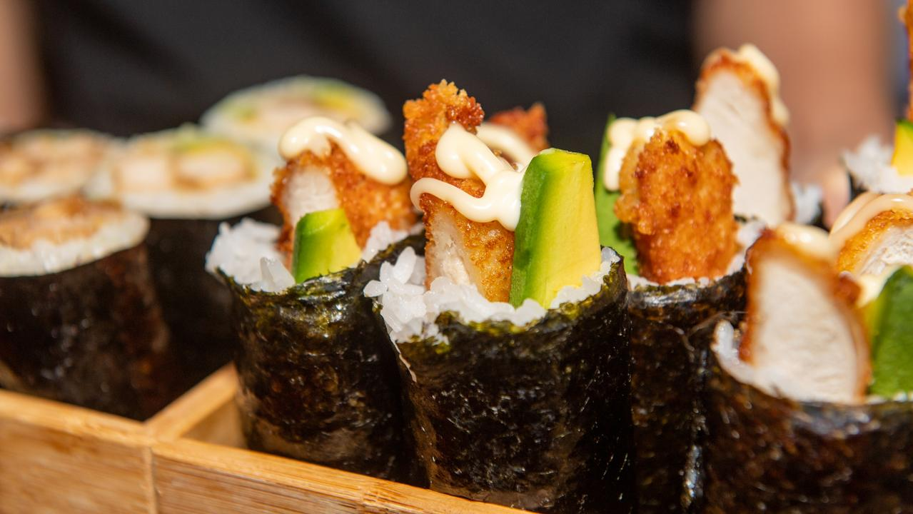 Delicious sushi on offer at Plainland. PHOTO: Ali Kuchel
