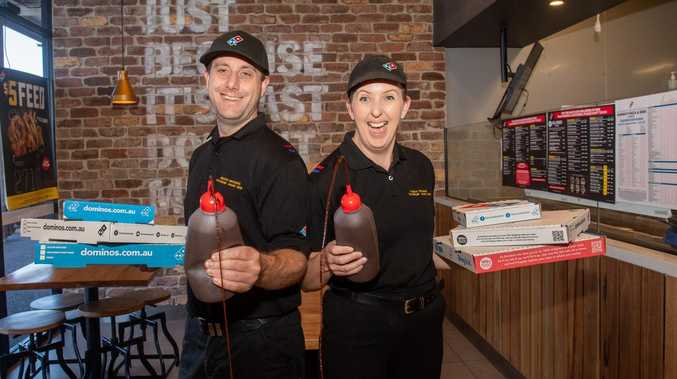 Want a job to make some dough? Domino's is hiring