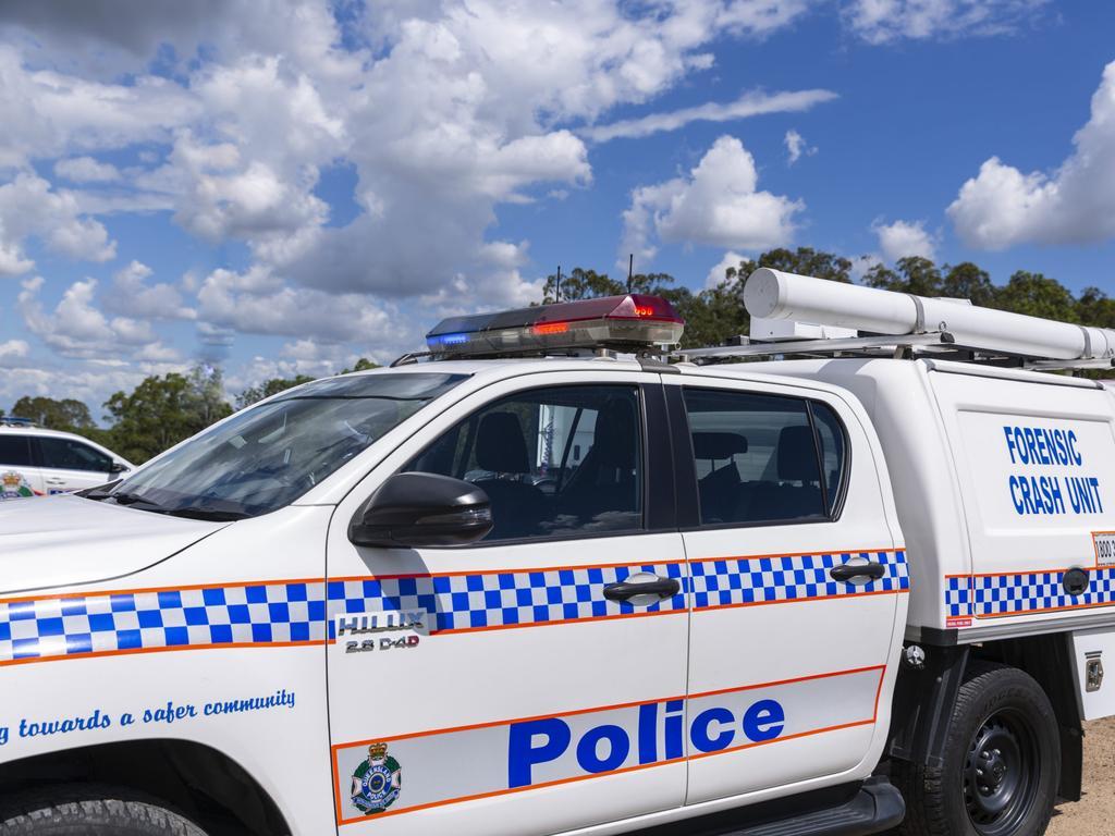 QPS forensic crash unit. Police generic.