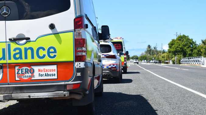 BREAKING: Motorcyclist 'run over' by truck on Ipswich Mwy