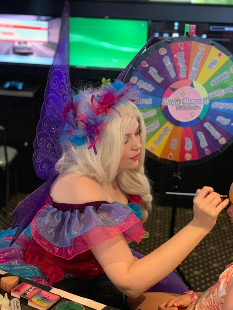 Bundaberg local Shannon Scifleet has returned to the region and is using her background as a children's entertainer and in performing arts to start her own business Magic Monroe's Kids Parties.