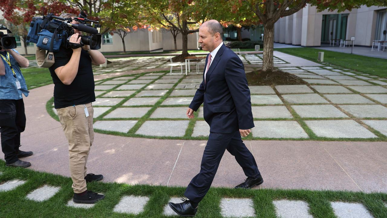 Mr Frydenberg says the country is making great strides towards its recovery. Picture: Gary Ramage