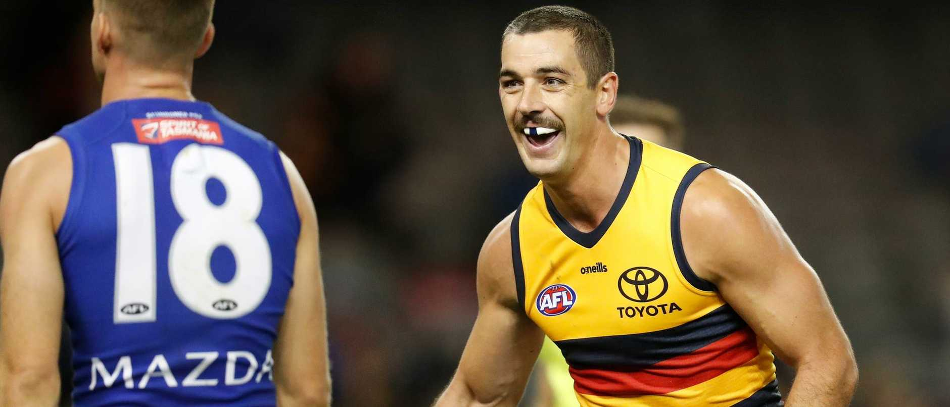 In-form Adelaide Crows forward Taylor Walker is out of contract at season's end but wants to play on in 2022
