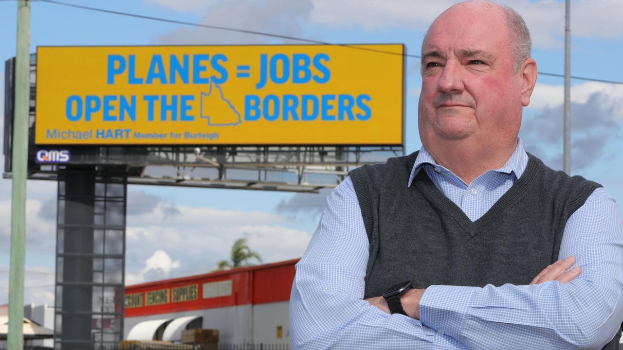 Michael Hart MP. Picture Glenn Hampson