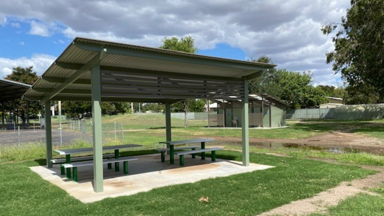 Blackwater Rotary Park has re-opened to the public following an upgrade of the facility. The existing amenities block and barbecues were replaced, extra seating and shade shelters were installed and concreting works were completed.