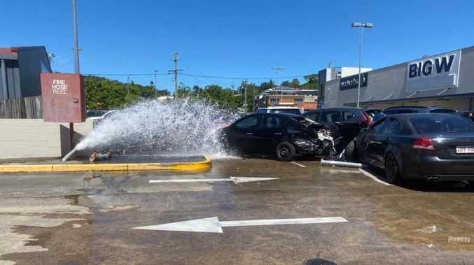 No plea from alleged fire hydrant crash driver