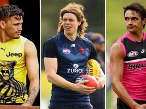 The players vying for senior spots in first VFL round