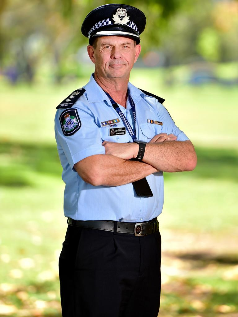 Superintendent Glen Pointing has moved to Rockhampton from Townsville. Picture: Alix Sweeney