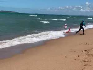 Regional kids splash and dash at Mackay Harbour Beach