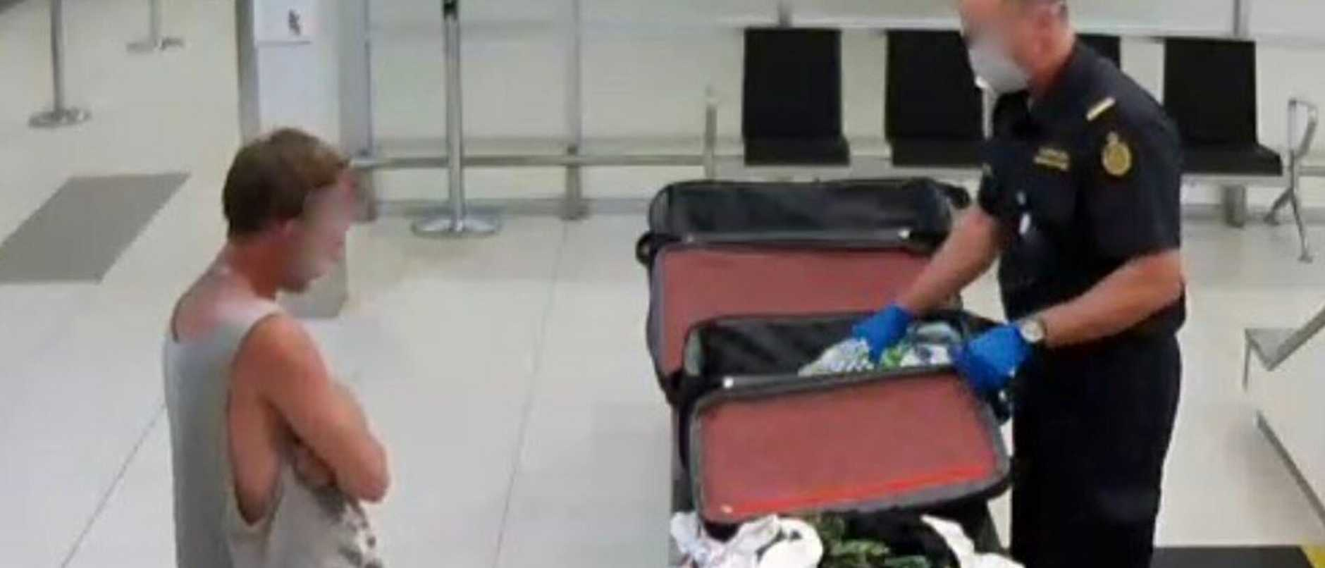 "A Gold Coast man arrived home from a short trip to Thailand with suitcases ""bulging"" with cocaine, a court has heard."