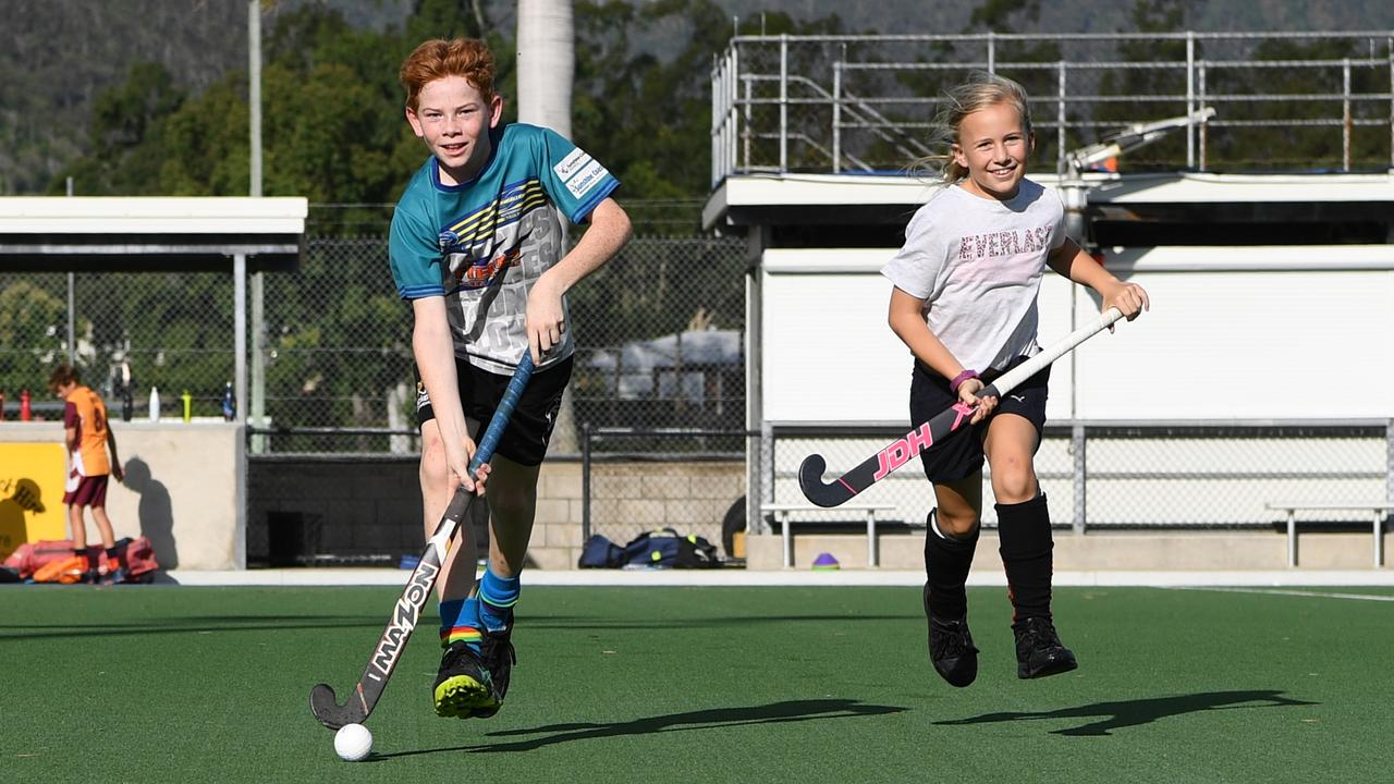 Darius Rossow will play with the Rockhampton under-13 boys and Sienna Harmsworth with the Rockhampton under-11 girls.
