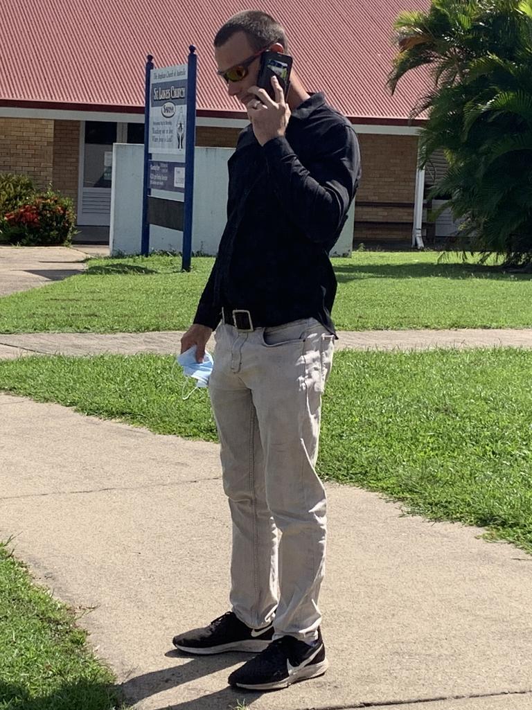 Jay Matthew Morton faced Sarina Magistrates Court on Monday, April 12, 2021. Picture: Heidi Petith