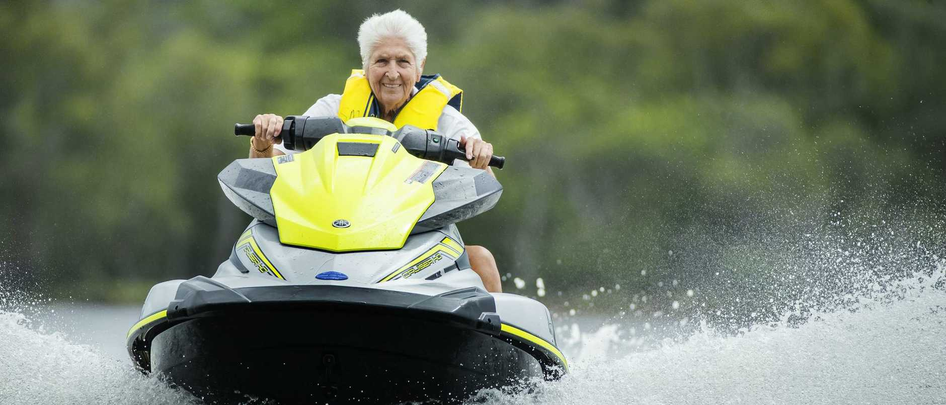 Olympic hero Dawn Fraser is a survivor who has triumphed over immense trauma and personal tragedy. Her  story reveals she has no intention of slowing down.