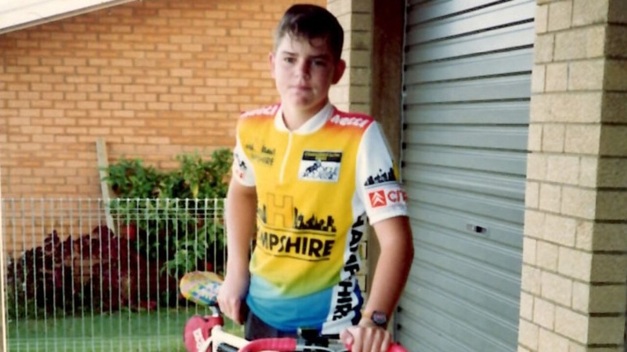 Timothy Pullen pictured as a teenager.
