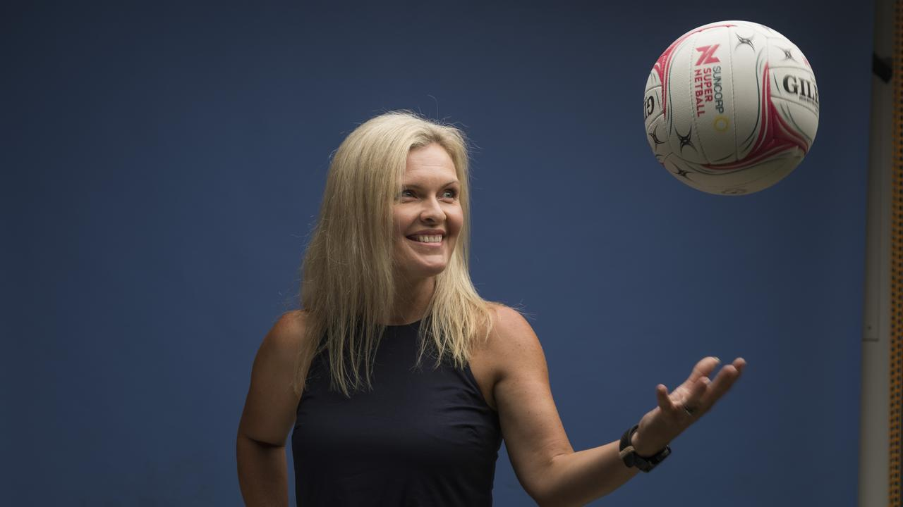 Netball Queensland CEO Catherine Clark for a profile on her. Pic Mark Cranitch.