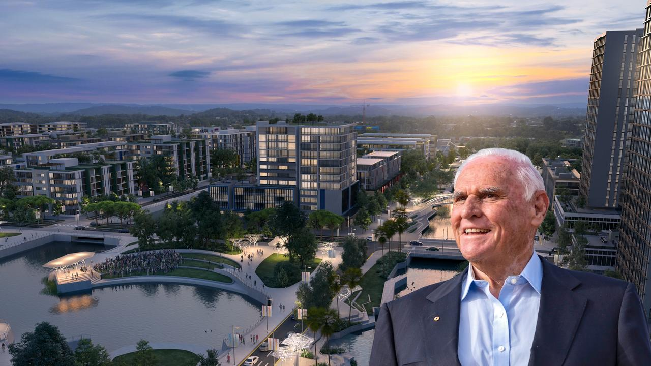 Billionaire property tycoon Lang Walker was in town on Wednesday. He's outlined some of his vision for the future Maroochydore CBD.