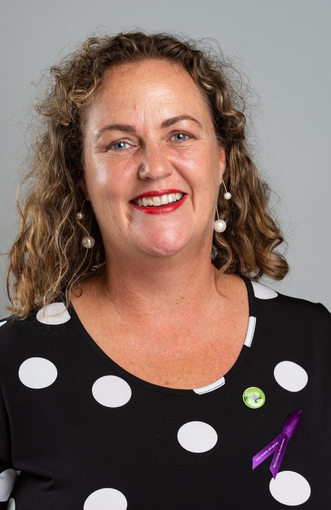 Queensland Teachers' Union president Cresta Richardson