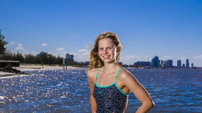Queensland swim teen snares Olympic qualifying time